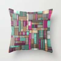 City Lines Throw Pillow