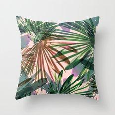 Tropical Hue  Throw Pillow