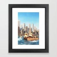 MINION LIFE: SEA Framed Art Print