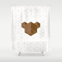 cubear Shower Curtain