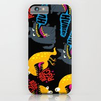 iPhone & iPod Case featuring Hungry! Blarrgh! by Chris Piascik