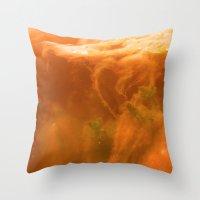 Midnight Lake Throw Pillow
