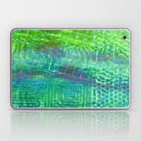 Textured Green And Pink Laptop & iPad Skin