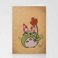 A Kockas Fulu Nyultoro Stationery Cards