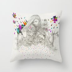 ECHOES by Peter Striffolino and Kris Tate Throw Pillow