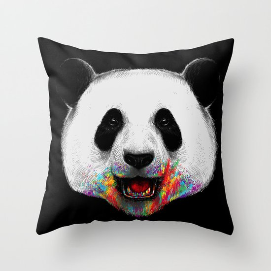 Where is the Rainbow? Throw Pillow