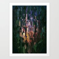 Castles In Hyperspace Art Print