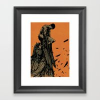 Catch Those That Fall At… Framed Art Print