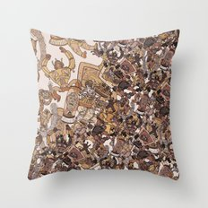 Robo Favorites Throw Pillow