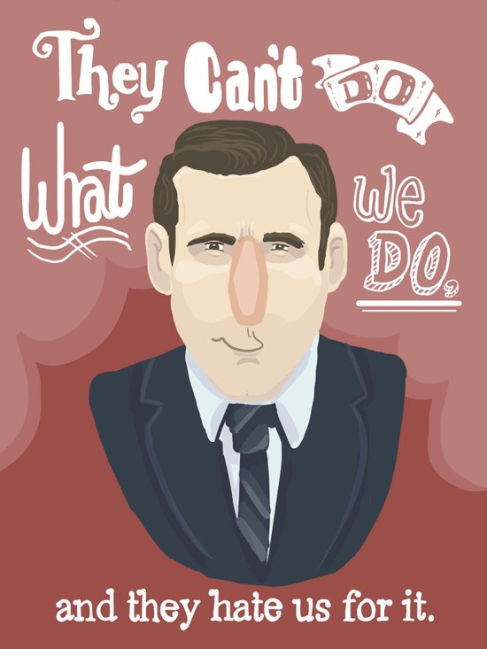 why watch (mad men) Art Print