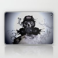 Zombie Warrior Laptop & iPad Skin