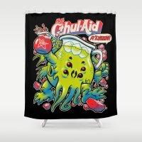 CTHUL-AID Shower Curtain
