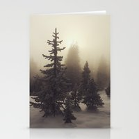 Sunlight, Frost And Stea… Stationery Cards
