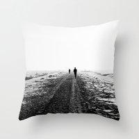 The Runner Throw Pillow