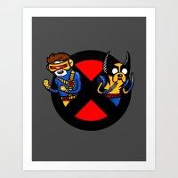 Mutant Time Art Print