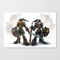 Mirror Reforged Canvas Print