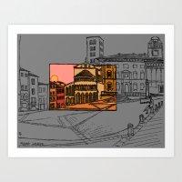 Piazza Grande Art Print
