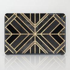 Geo Black Marble Dream iPad Case