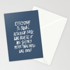 Equal Stationery Cards