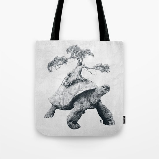 Tortoise Tree - Growth Tote Bag