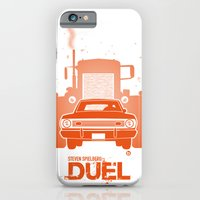 iPhone & iPod Case featuring Steven Spielberg's DUEL by Alain Bossuyt