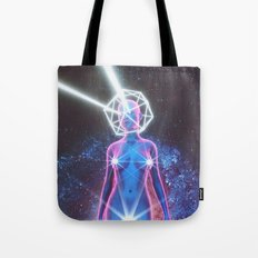 Starry Sky Emoji & Diamond Emoji Tote Bag