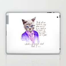 Fashion Mr. Cat Karl Lagerfeld and Chanel Laptop & iPad Skin