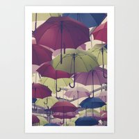 Why Does It Always Rain … Art Print