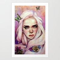 Sweet Flora Enshrined  Art Print