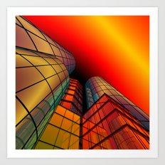 look into the sky -6- Art Print