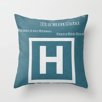 What I Learned With House 02 Throw Pillow