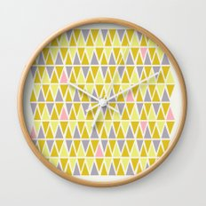 Lemon Sorbet Wall Clock