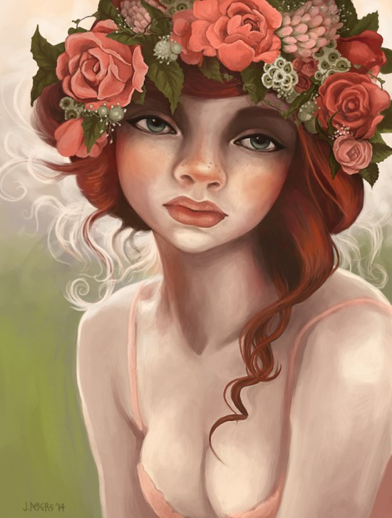 May Queen Art Print