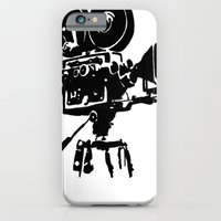 iPhone & iPod Case featuring For Reel by KatieWaye