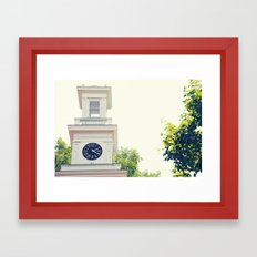 2:20 Framed Art Print
