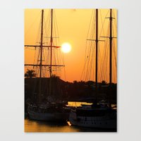 Nadi Harbour, Fiji Canvas Print