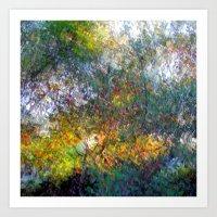 Ode To Monet Art Print