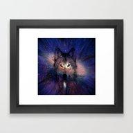 Wolf Energy Framed Art Print