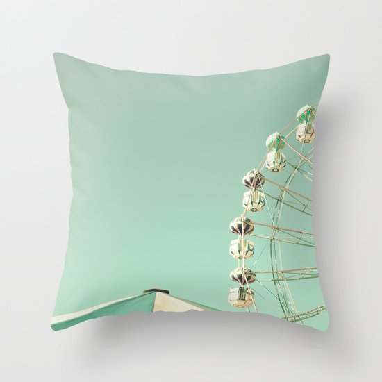 Ferris Wheel - The sky was the limit Throw Pillow