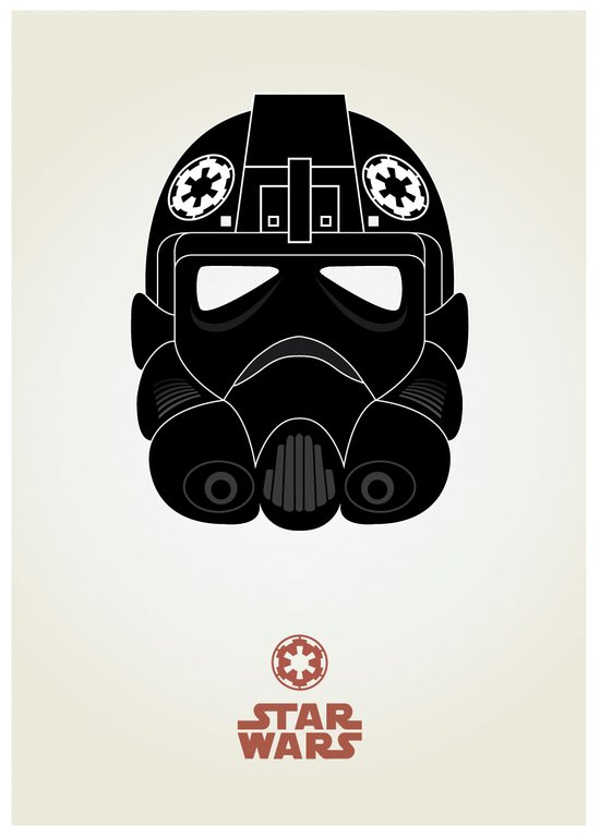 Imperial Pilot Art Print