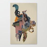 The Jackal Canvas Print