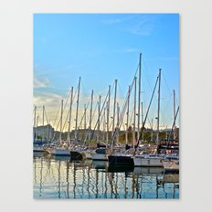 Harbor: Barcelona, Spain Canvas Print
