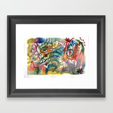 Abstract Watercolour 2016-06-29 Framed Art Print