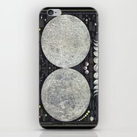 The Earth's Moon Map iPhone & iPod Skin