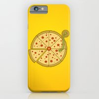 iPhone & iPod Case featuring Pizza Vinyl by Fathi