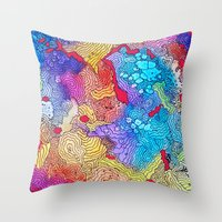 Reef #2 Throw Pillow