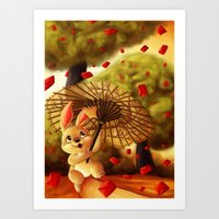Year of the Bunny Art Print