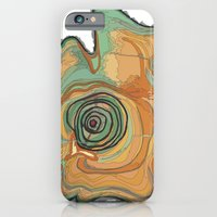 iPhone & iPod Case featuring Tree Stump Series 3 - Illustration by Angelina Bowen