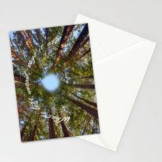 What's left unsaid, says it all! Stationery Cards