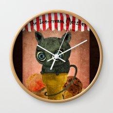 The Ice-cream Monster. Wall Clock